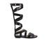 MICHAEL MICHAEL KORS Women's Darby Vachetta Knee High Gladiator Sandals - Black: Image 1