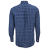 GANT Men's Tiebreak Twill Check Shirt - Marine: Image 2