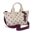 Marc by Marc Jacobs Women's Embroidered Fruit Canvas Small Tote Bag - Off White Cherry: Image 2