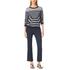 MICHAEL MICHAEL KORS Women's Denim Crop Flare Jeans - Huston Wash: Image 4
