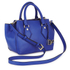 Diane von Furstenberg Women's Voyage Small Double Zip Leather Tote Bag - Blue: Image 2