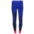 adidas Women's Stella Sport Gym Logo Tights - Blue: Image 4