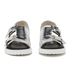 Opening Ceremony Women's Mirror Leather Double Strap Sandals - Silver: Image 4
