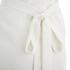 Lavish Alice Women's Cross Strap Tie Detail High Neck Midi Dress - White: Image 4