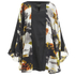 Lavish Alice Women's Abstract Print Floaty Dress - Multi: Image 1