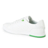 BOSS Green Men's Ray Check Leather Trainers - White: Image 4