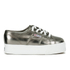 Superga Women's 2790 Cotmetw Flatform Trainers - Grey: Image 1