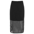 Finders Keepers Women's Stand Still Skirt - Lattice Black: Image 2