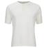 Universal Works Men's Single Jersey Short Sleeve Eton T-Shirt - Ecru: Image 1