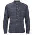 Universal Works Men's Ikat Everyday Shirt - Navy: Image 1