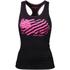 Better Bodies Women's N.Y Rib T-Back Tank Top - Black: Image 1