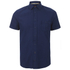 BOSS Orange Men's Eslimye Short Sleeve Shirt - Indigo: Image 1