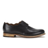 Grenson Women's Dulcie Leather Wave Top Derby Shoes - Black: Image 1