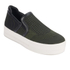 Ash Women's Jeday Knit Slip-on Trainers - Army/Black: Image 4