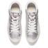 Ash Women's Cult Metal Rock/Nappa Wax Flatform Trainers - Silver/White: Image 2