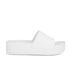 Ash Women's Scream Flatform Slide Sandals - White: Image 1