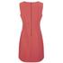 Diane von Furstenberg Women's Carrie Long Dress - Coral: Image 2