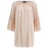 VILA Women's Alantata Long Sleeve Tunic Dress - Pink Sand: Image 1