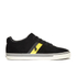 Polo Ralph Lauren Men's Hanford II Perforated Suede Trainers - Black: Image 1
