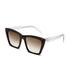 Prism Women's Sydney Sunglasses - Dark Tortoise: Image 2