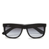 Ray-Ban Justin Rubber Sunglasses 54mm - Black: Image 1