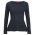 HUGO Women's Scilly Knitted Jumper - Navy: Image 1