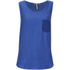BOSS Orange Women's Kathna Vest Top - Blue: Image 1