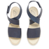 Prism Women's Naxos Ankle Strap Leather Sandals - Marine: Image 2