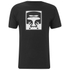 OBEY Clothing Men's Half Face Icon Basic T-Shirt - Black: Image 1