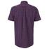 Gant Men's Poplin Check Short Sleeve Shirt - Red: Image 2
