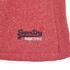 Superdry Men's Orange Label Tri Grit Sweat Shorts - Red Slub: Image 3