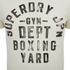 Superdry Men's Boxing Yard Short Sleeve T-Shirt - Gym Ecru: Image 3