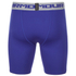 Under Armour Men's Heatgear Compression Shorts – Blue: Image 2
