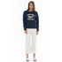 OBEY Clothing Women's Obey Posse Crew Sweatshirt - Navy: Image 2