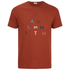 Paul Smith Jeans Men's Pyramid Logo Crew Neck T-Shirt - Red: Image 1