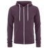 Soul Star Men's Berkley Zip Through Hoody - Burgundy: Image 1