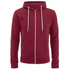 Soul Star Men's Berkley Zip Through Hoody - Red: Image 1
