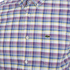 Lacoste Men's Short Sleeve Checked Shirt - Iodine: Image 3
