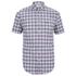 Lacoste Men's Short Sleeve Checked Shirt - Iodine: Image 1