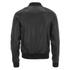 AMI Men's Zipped Teddy Jacket - Black: Image 2