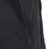 AMI Men's Hooded Half Zipped Jacket - Black: Image 3