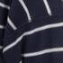 AMI Men's Oversized Crew Neck Sweatshirt - Navy/White: Image 3