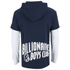 Billionaire Boys Club Men's Big Arch Hoody with Contrast Sleeves - Navy Blazer: Image 2