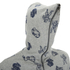 Billionaire Boys Club Men's Full Coverage Hoody - Heather Grey: Image 3