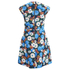 Carven Women's Floral Mini Dress - Multi: Image 3