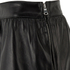 REDValentino Women's Cut Out Leather Skirt - Black: Image 3