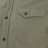 Nudie Jeans Men's Gunnar Long Sleeve Shirt - Olive: Image 3