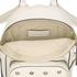 REDValentino Women's Mini Eyelet Backpack - White: Image 4