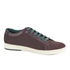 Ted Baker Men's Keeran 3 Geo-Print Cup-Sole Trainers - Dark Red: Image 2
