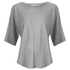 Helmut Lang Women's Wide Sleeve Scoop Top - Medium Heather: Image 1